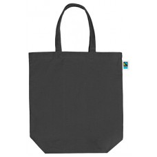 1553-02 Canvas shopper black